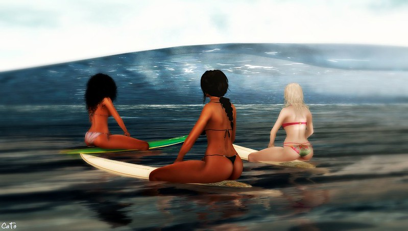 Girls Night Out - Surfing - I