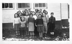 Children at the Sawyer Stoll School c1954