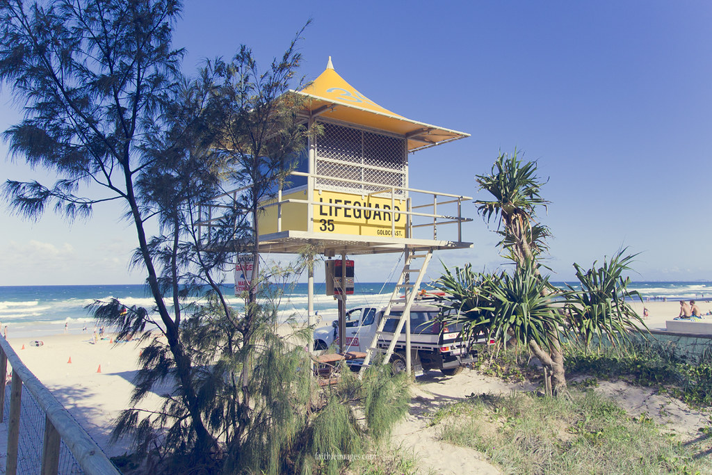 Typical Australian Lifeguard hut