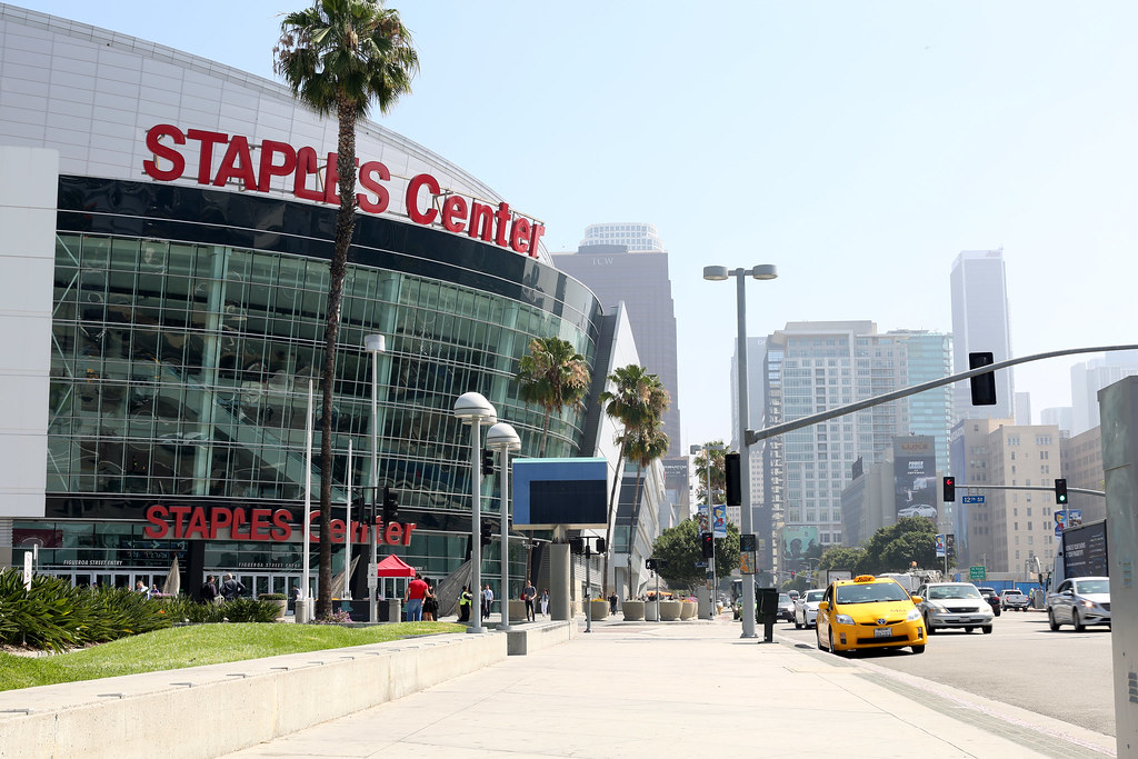 LA 2015 Staples Center
