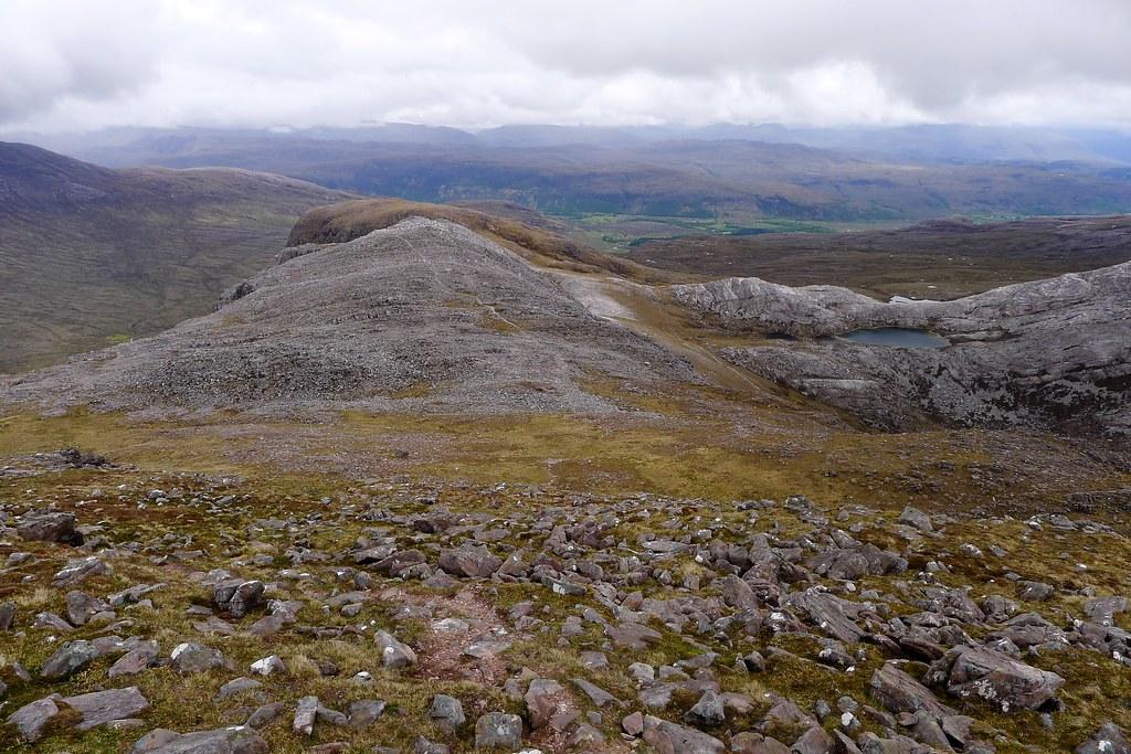 The east ridge of Maol Chean-dearg