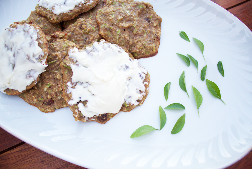 zucchini and oats cookies