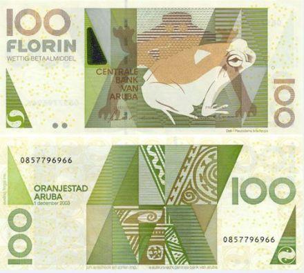 aruba banknote