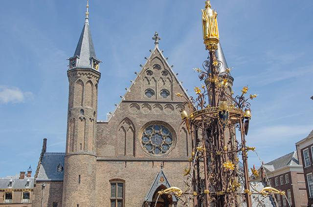 Binnenhof, edificios del parlamento de La Haya