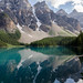 moraine lake reflection by Hoetmer R