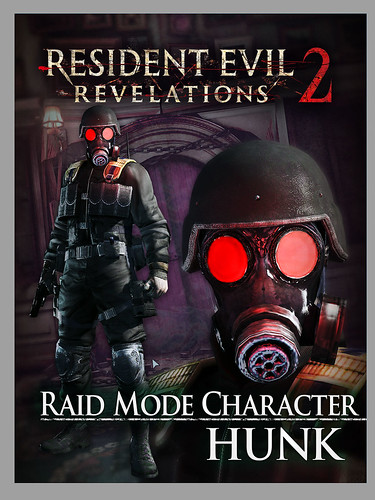 Resident Evil Revelations 2 on PS Vita: Raid Character Hunk