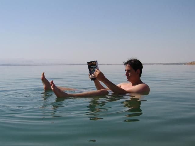 Sele en el Mar Muerto (Jordania)