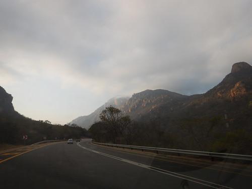 Driving through Mpumalanga, South Africa