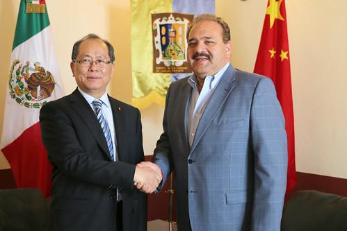 embajador de China