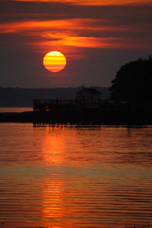 Peaks Island Sunset