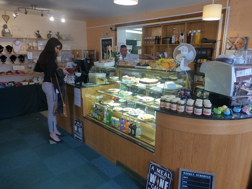 Link to Flickr page for Counter and Cake Display Area photo