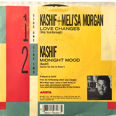 KASHIF & MELI'SA MANCHESTER:LOVE CHANGES(JACKET B)