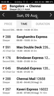 ClearTrip-App-Bangalore-to-Chennai-Train-Availability