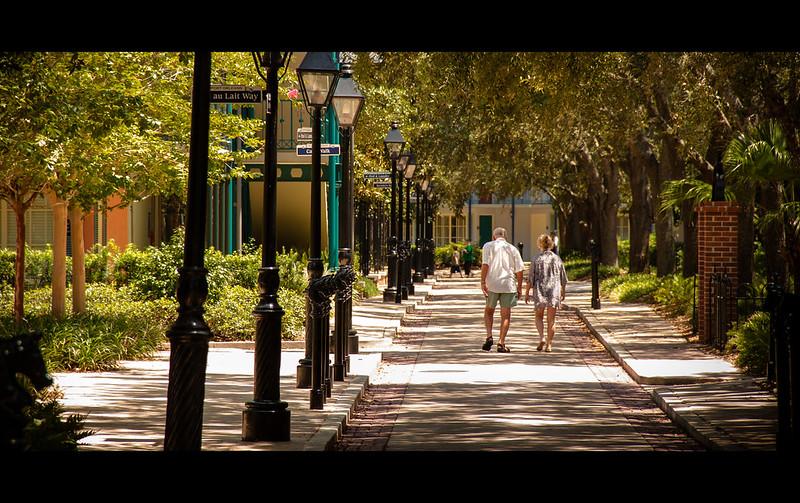 Disney's Human Element - The Rue D' Baga Cake Walk