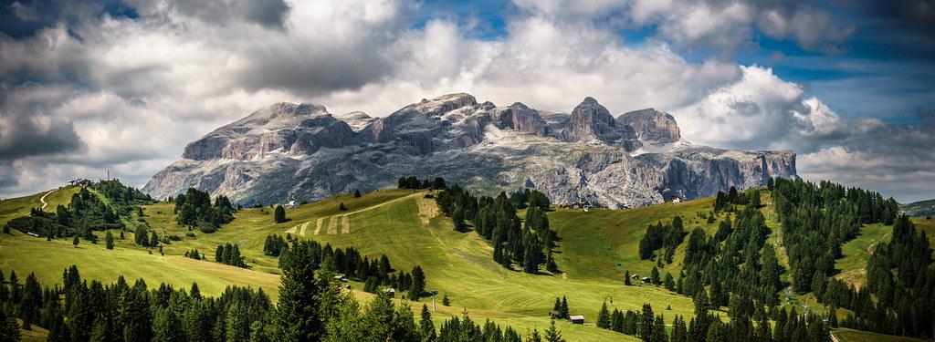 Gruppo del Sella, Trentino Alto Adige, Italy picture