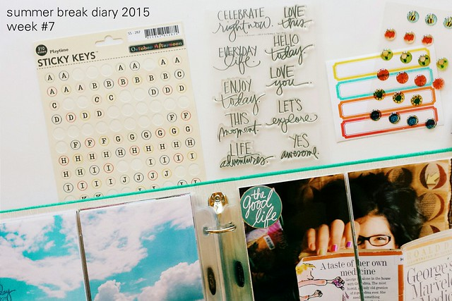 summer break diary 2015: week # 7