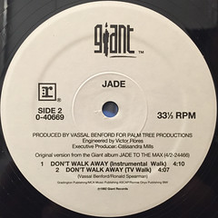 JADE:DON'T WALK AWAY(LABEL SIDE-B)
