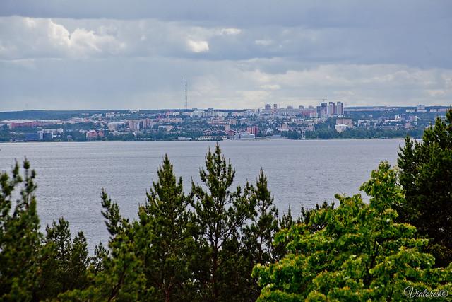 Onezhskoe ozero. Petrozavodsk. Russia