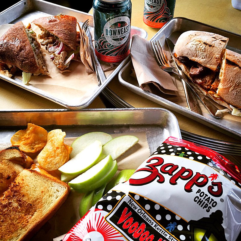Roast Pork Sandwiches.   Chicken with Blue Cheese Sandwiches and Grilled Cheese Sandwiches🍏 Cider