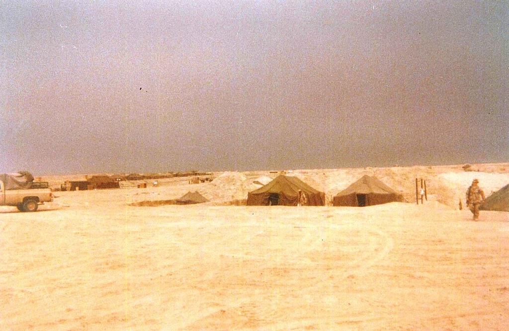 USMC Desert Storm Photos with Todd Plesco