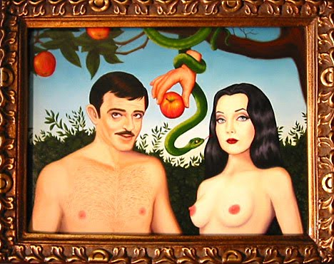 Gomez and Morticia Garden of Eden. Isabel Samaras