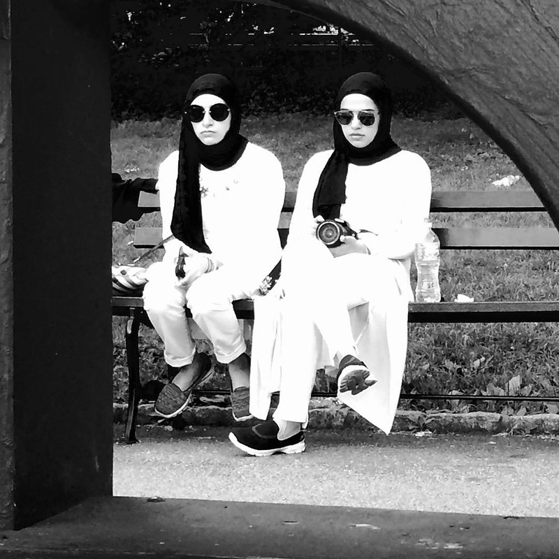 Central Park New York City August 7,2015 #sahadevision #BlackNWhite
