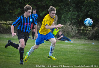 Cliffe FC U21s 3 - 0 Howden AFC 4Aug15