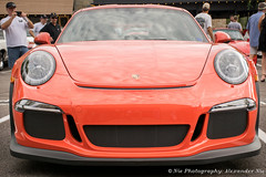 911 GT3RS in Lava Orange