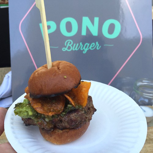 Pono Burger at LA Weekly's Burgers and Beer
