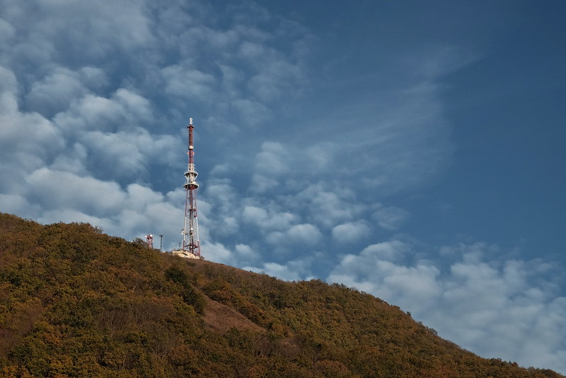 Телевышка на горе Машук. Пятигорск