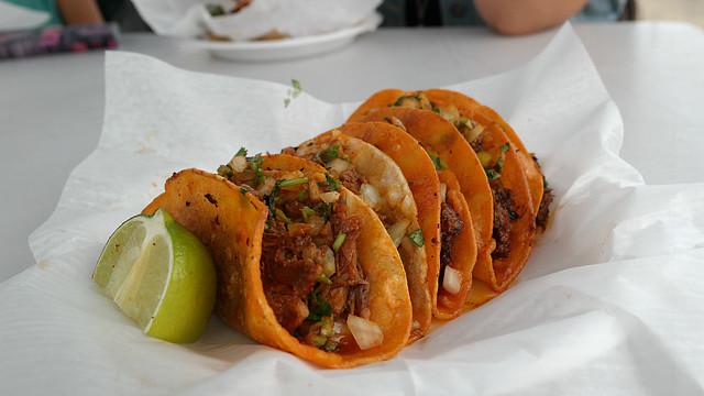 Birria Tacos from La Barca Taco Truck in Des Moines, Iowa