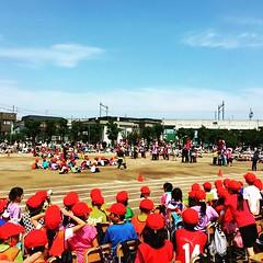 Sports Day at the local Japanese elementary school. Kids gave their best! #japan #japanese #nihon #nippon #japonia #sapporo #hokkaido #undoukai #sports #kids #instapic #instagram #instajapan #instamania #instaphoto