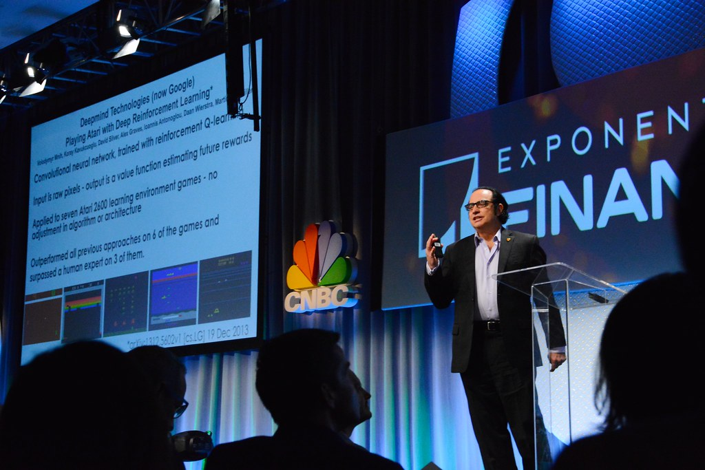 AI, Machine Learning & Big Data, Neil Jacobstein, Faculty Co-Chair, AI & Robotics, Singularity University...Exponential Finance 2015 hosted by Singularity University