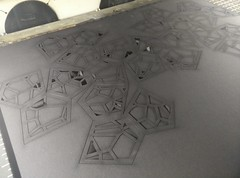 Voronoi catalan polyhedron