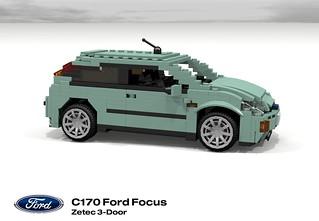 Ford Focus Zetec 3-Door (MkI - C170)