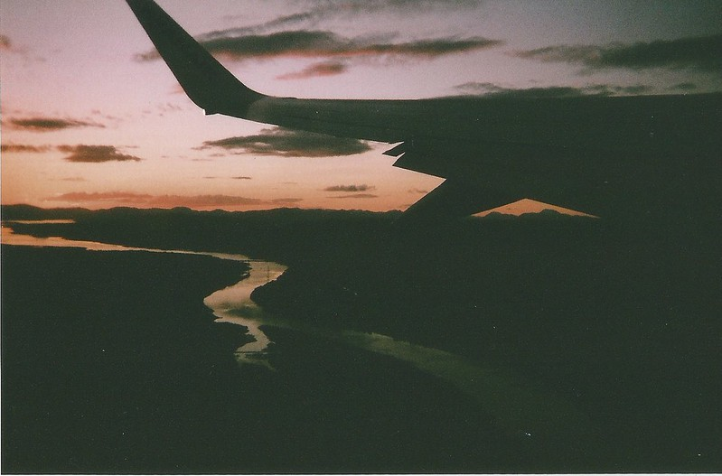 Glasgow in film photography. London UK Lifestyle blog.Smudgeness. Glasgow skies from the plane