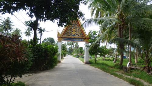 Koh Samui Temple gate