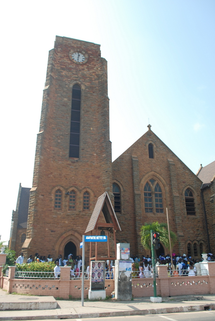 Old Methodist Church - Jamestown - Accra