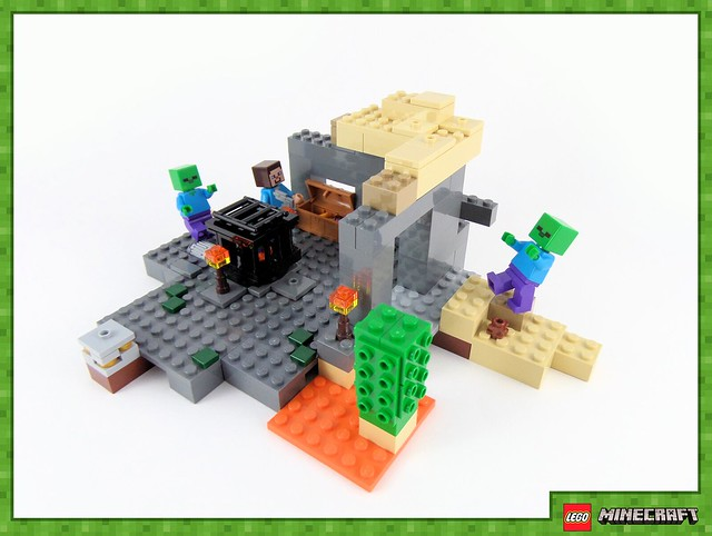 Review - 21119 LEGO Minecraft The Dungeon από EUROBRICKS 19243371974_378a891651_z