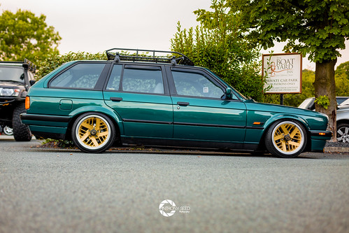 Adam's E30 at Unphased July