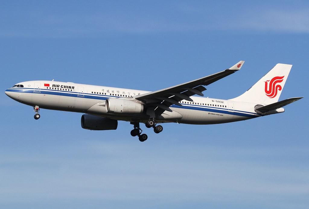 Short final for RWY35R inbound from Beijing PEK. Delivered 10/2013