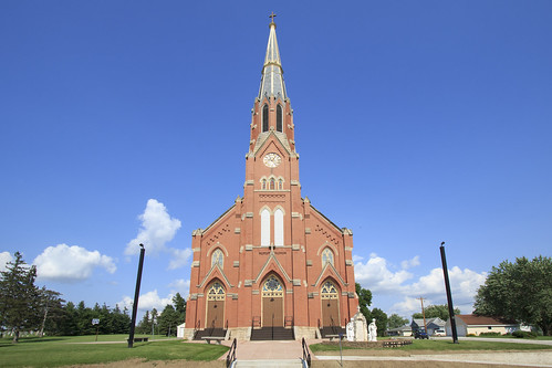 church midwest catholic iowa smalltown