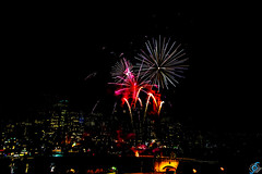 Canada day 2015 fireworks at calgary
