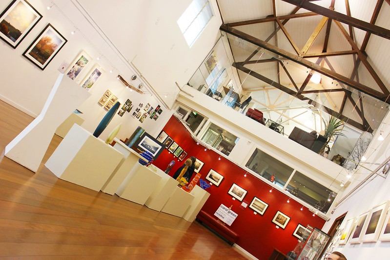 Milk factory art gallery in Mittagong
