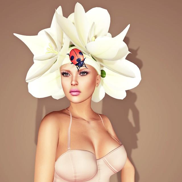 Boudicca Amat -Orchid - Hair Fair 2015 Bandana