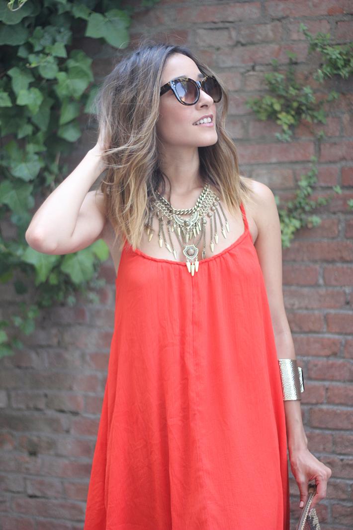 Red Maxi Dress11