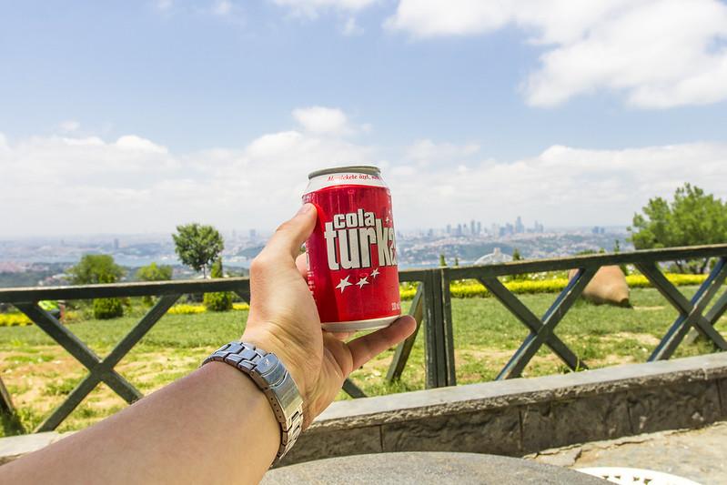 Cola Turka - Camlica Hill, Istanbul, Turkey