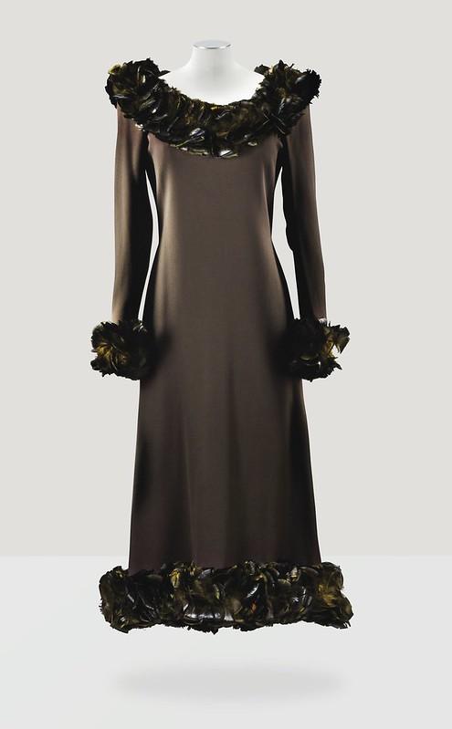 Yves Saint Laurent Haute Couture, automne-hiver 1969-1970 - Lot 107