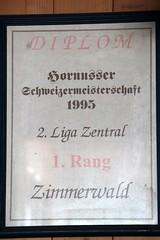 Hornussen Zimmerwald