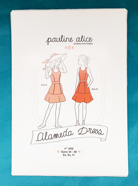 Alameda dress pattern envelope